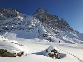 ski dans le Caucase géorgien