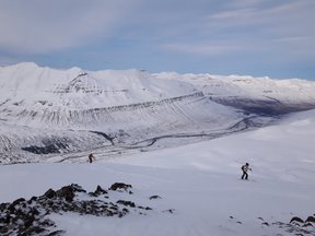 ski en Islande