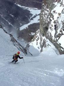 ski de couloir