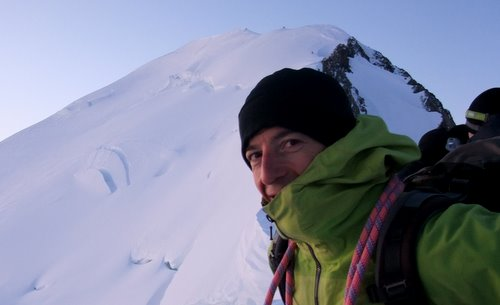 Bertrand Gentou, guide de Haute Montagne
