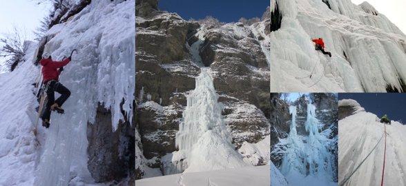 escalade cascade de glace