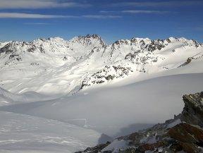 ski en Silvretta